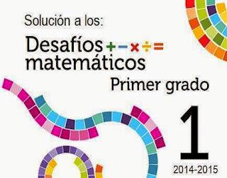 Desafíos Matemáticos 1er grado 2014-2015 Soluciones