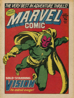 Marvel Comic #336, the Vision