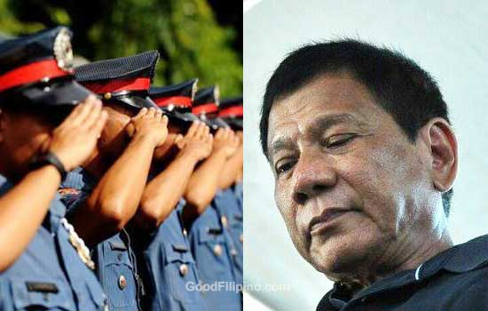 Duterte to Police officers: arrest drug lords 'dead or alive' and get a reward