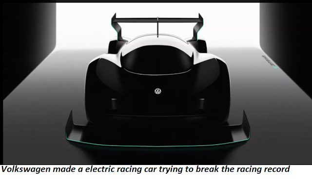 Volkswagen made a electric racing car trying to  break the racing record  technologypk