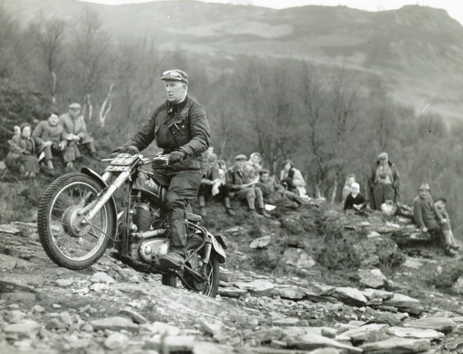 Vintage Trials Riding