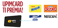 Logo Con UpimCard omaggi Nesquik, Orzoro, Nescafé, Nestlé