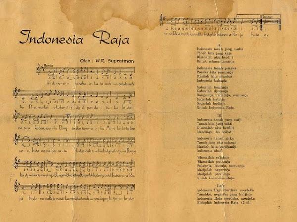 Lagu Kebangsaan Indonesia Raya Cerita Dimulai