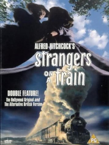 Classic films Alfred Hitchcock's Strangers On A Train DVD Cover