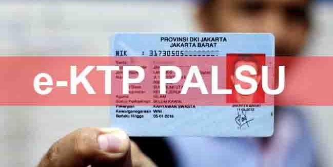 Waspada, e-KTP Palsu Beredar di Sukabumi