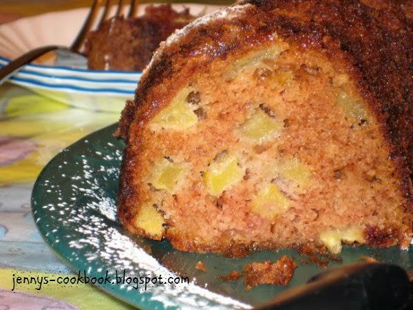 German Apple Cake Recipe Sour Cream