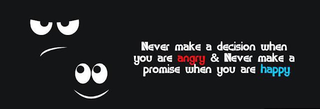 Facebook cover quote