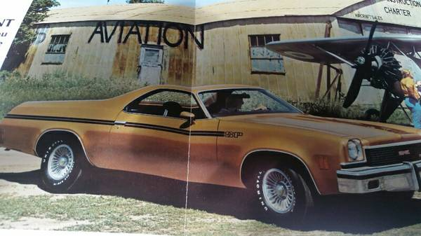 Barn Find Thursday - 1973 GMC Sprint SP454 El Camino Style ...