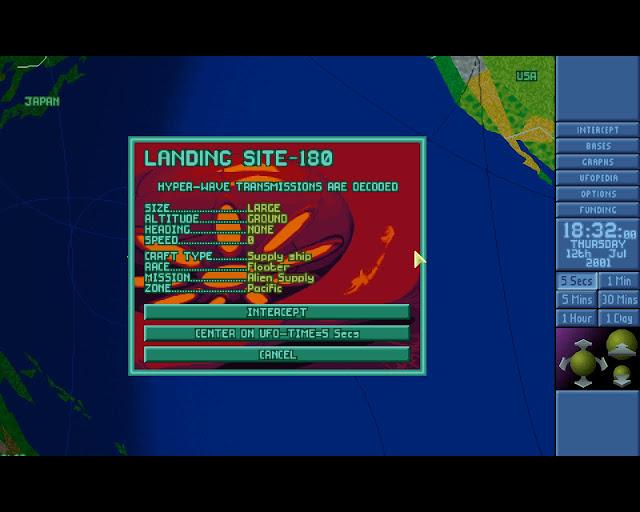 Open X-Com X-Files Landing Site 180