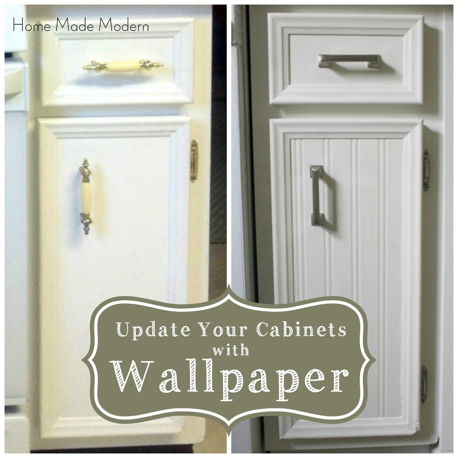home modern updated kitchen cabinets rental friendly kitchen update wallpaper cabinets