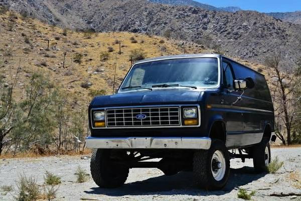 1989 ford f350 cargo 4x4 van 4x4 cars. Black Bedroom Furniture Sets. Home Design Ideas
