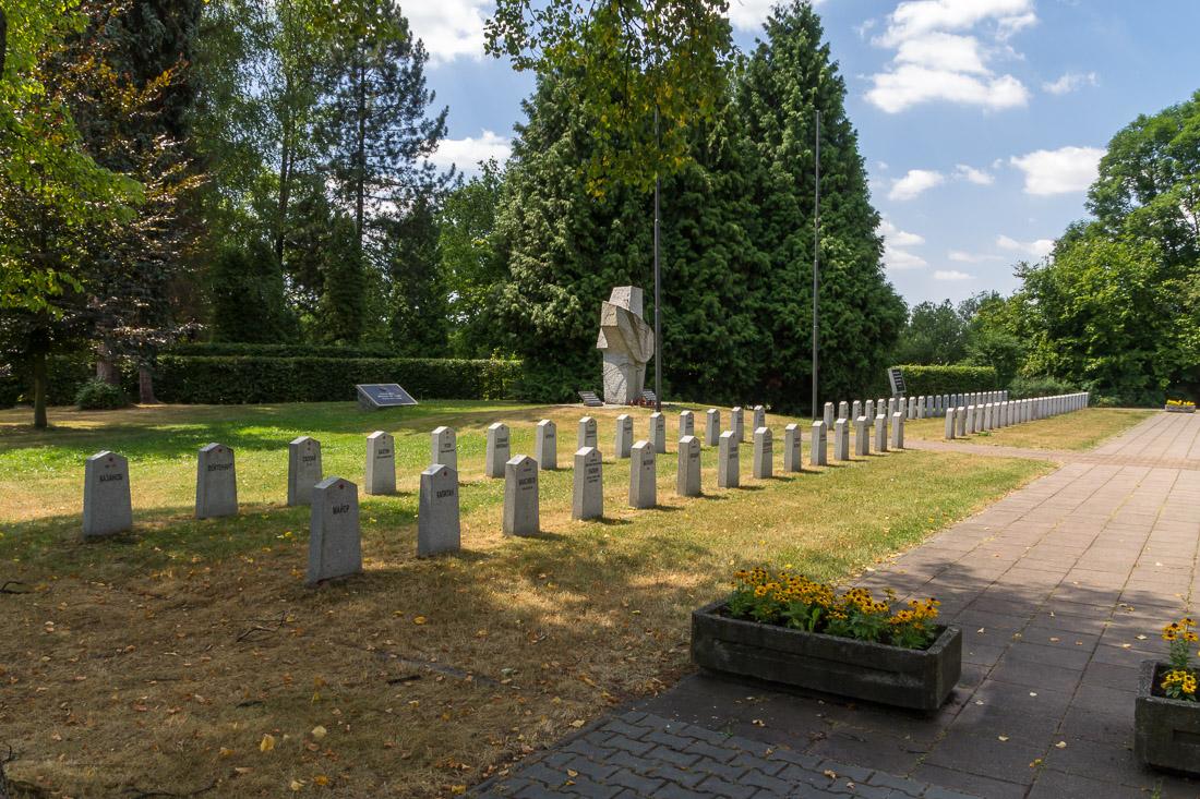 Военное мемориальное кладбище в городе Фридек-Мистек