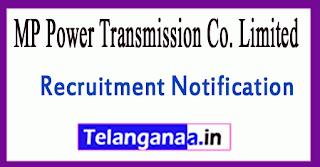 MP Power Transmission Co. Limited MPPTCL Recruitment Notification