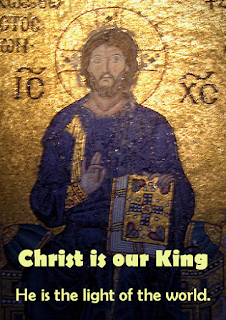 Christ is our King, let the whole world rejoice! May all the nations sing out with one voice! Light of the world, you have helped us to see that we are one people and one day we shall all be free. 1 He came to open the eyes of the blind, letting the sunlight pour into their minds. Vision is waiting for those who have hope. He is the light of the world. 2 He came to speak tender words to the poor, he is the gateway and he is the door. Riches are waiting for all those who hope. He is the light of the world.  3 He came to open the doors of the jail, he came to help the downtrodden and frail. Freedom is waiting for all those who hope. He is the light of the world. 4 He came to open the lips of the mute, letting them speak out with courage and truth. His words are uttered by all those who hope. He is the light of the world. 5 He came to heal all the crippled and lame, sickness took flight at the sound of his name. Vigour is waiting for all those who hope. He is the light of the world. 6 He came to love everyone on this earth, and through his Spirit he promised rebirth. New life is waiting for all those who hope. He is the light of the world.