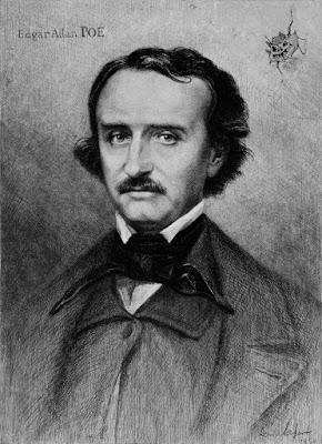 Πορτραίτο του Έντγκαρ Άλαν Πόε / Edgar Allan Poe portrait