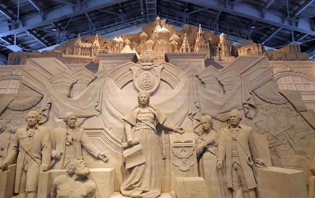 Visit Sand Museum in Tottori