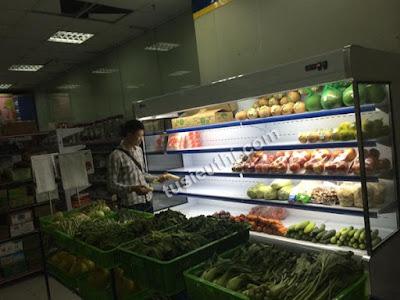 tủ trưng bày thực phẩm