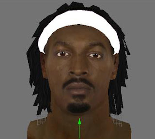 NBA 2K13 Gerald Wallace Cyber Face Patch Download