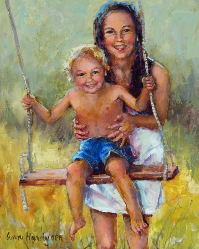 Американский художник. Ann Hardy 14