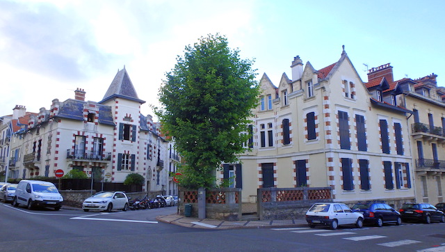 Biarritz city center