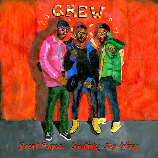GoldLink - Crew (feat. Brent Faiyaz & Shy Glizzy) - Single Cover