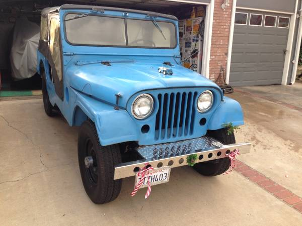 1955 Willys Jeep CJ6 For Sale