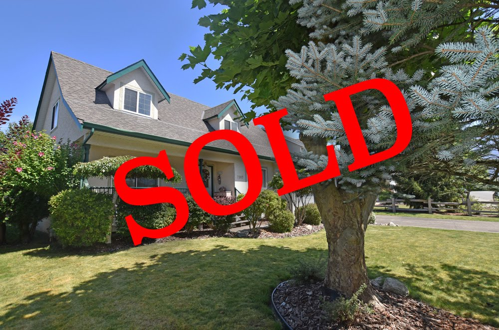 SOLD - Agassiz 3 Bedroom House