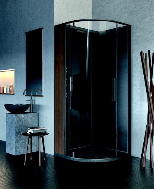 Mê mẩn với những mẫu phòng tắm kết hợp xông hơi tối giản