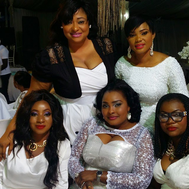 yoruba actresses malaika all white party