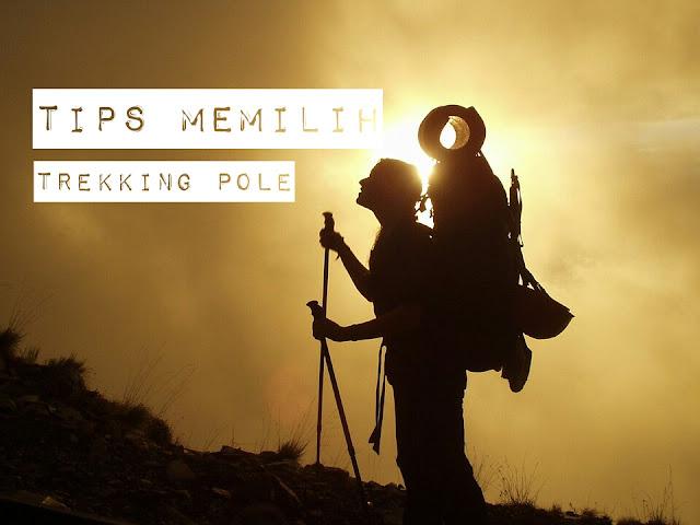 6 tips memilih trekking pole untuk mendaki gunung