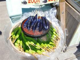 アイス胡瓜・茄子
