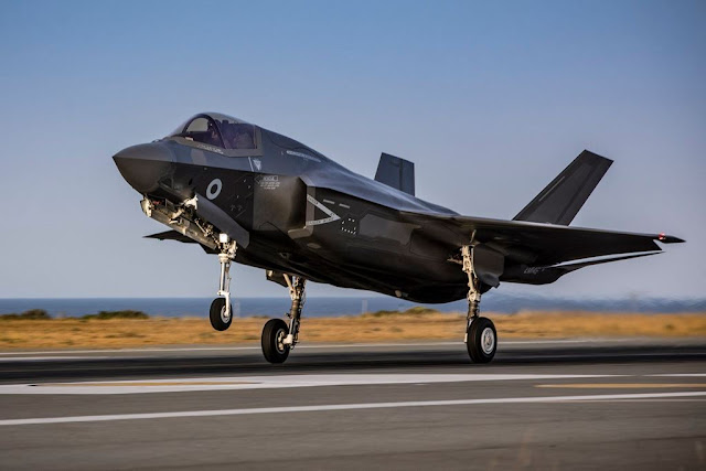 RAF F-35 Cyprus exercise