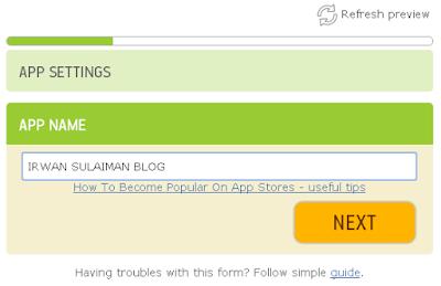 Cara Membuat Website/Blog Menjadi Aplikasi Android Secara Online