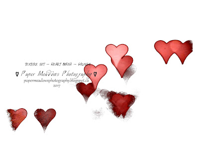 Paper Meadows Photography Blog-Freebies-Textures Set Heart Bokeh grunge