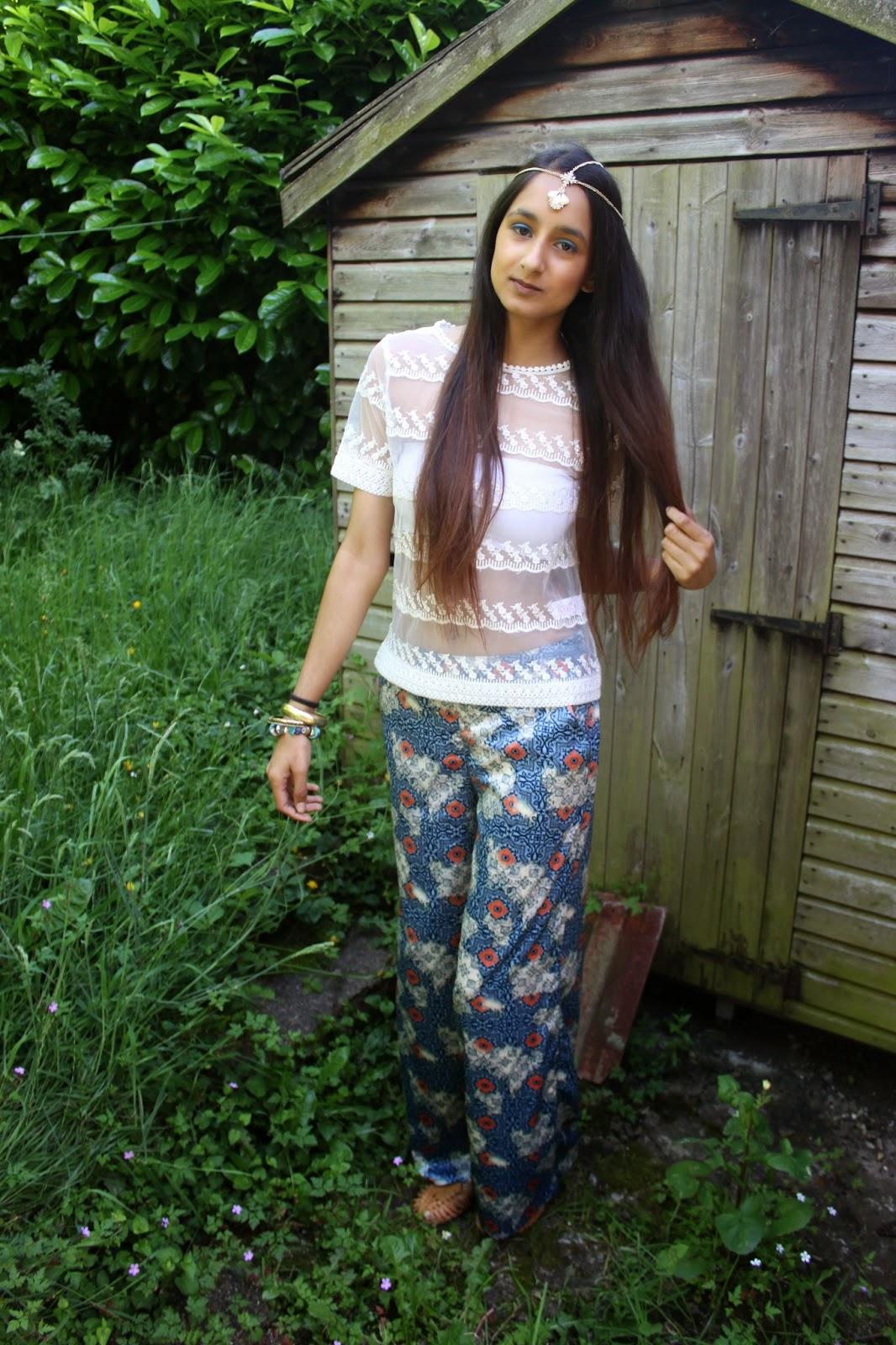 Festival Lookbook / Bohemian Beauty