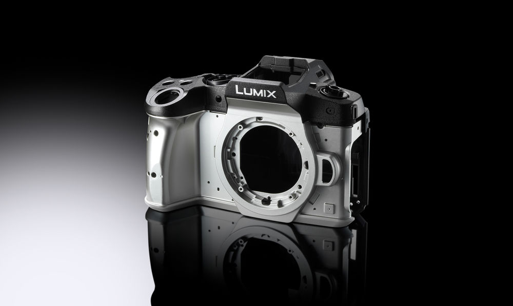 Корпус Lumix G80/G85 из магниевого сплава