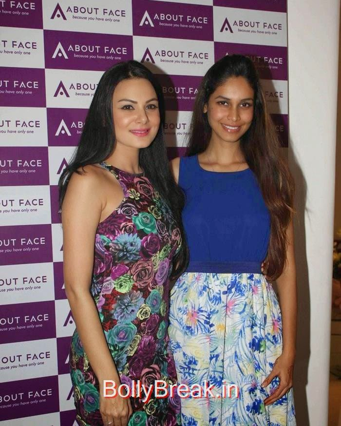 Aanchal Kumar, Amruta Patki, Malaika Arora Khan Hot HD Images At About Face skin care & Aesthetics Center Launch