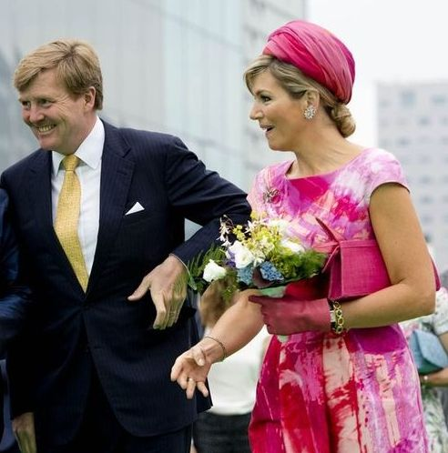 King Willem-Alexander and Queen Máxima  visit the provinces of Flevoland and Overijssel