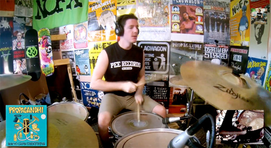 <center>Every Fat Wreck Chords release drum medley </center>