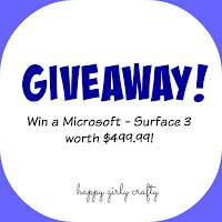 http://happygirlycrafty.blogspot.gr/2015/06/giveaway-microsoft-surface-3-giveaway.html