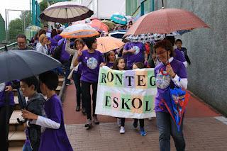 Fiesta de 50 aniversario del colegio Rontegi