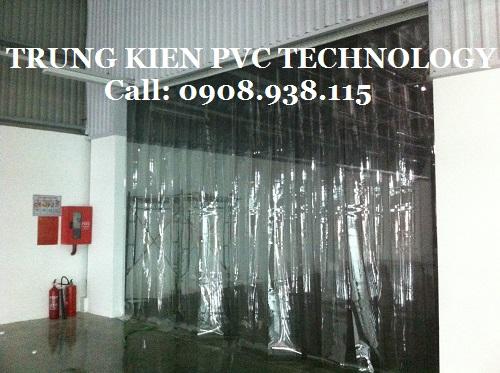 Màn cửa nhựa PVC ngăn chống bụi Nhà máy IMG Việt Nam