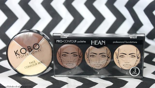 Hean Pro Contour Palette Kobo Face Contour Mix