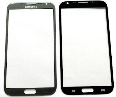 Thay mat kinh, man hinh Samsung Note 2 uy tin