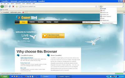 تحميل متصفح كوميت بيرد CometBird احدث اصدار