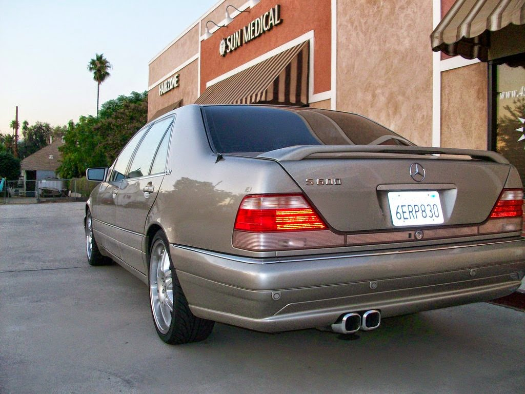 Mercedes Benz Amg >> Mercedes-Benz W140 S600 on BRABUS Wheels | BENZTUNING