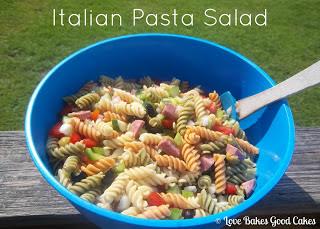 Love Bakes Good Cakes: Italian Pasta Salad