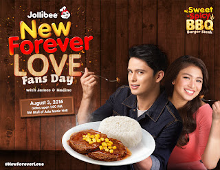 Jollibee To Celebrate New Forever Love With JaDine!