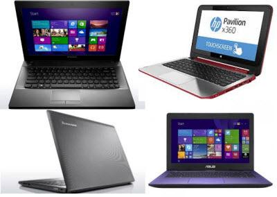 daftar laptop terbaik RAM 4GB