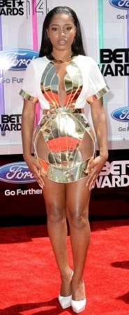 article 2674348 1F407F9A00000578 311 634x884 Red Carpet photos from 2014 BET Awards + Full List of Winners